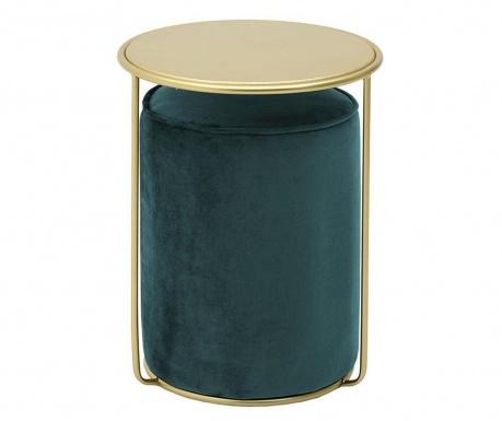 Caris Green Dohányzóasztal és zsámoly