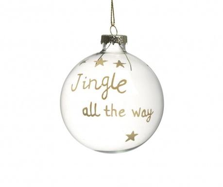 Декоративна топка Jingle All The Way