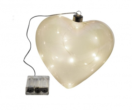 Φωτεινό διακοσμητικό Smoky Heart