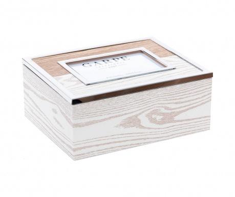 Pudełko z pokrywką Layers Brown