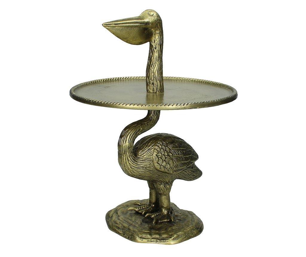 Platou cu picior Pelikan Gold