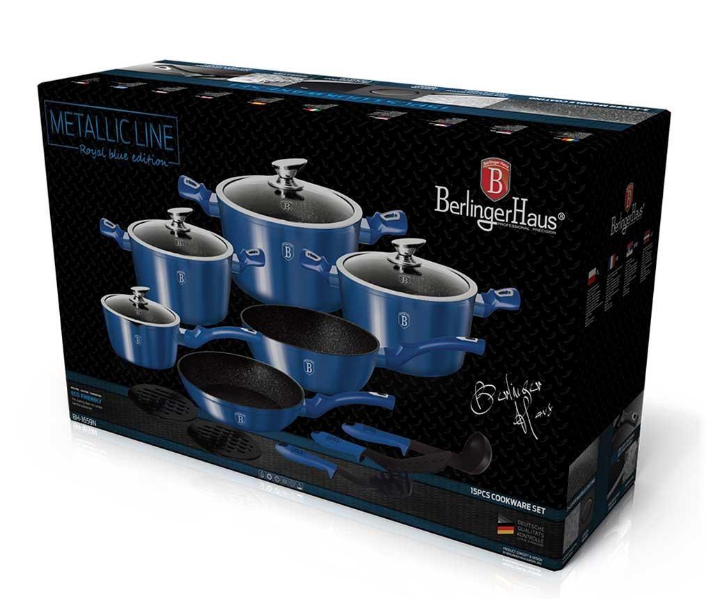 15-dijelni set posuda za kuhanje Royal Blue