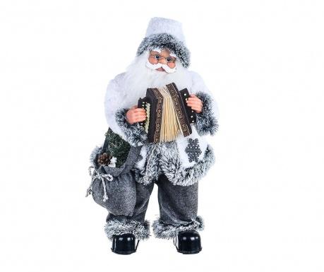 Μουσικό διακοσμητικό Old Santa with Accordion