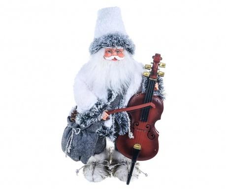 Μουσικό διακοσμητικό Old Santa Double Bass