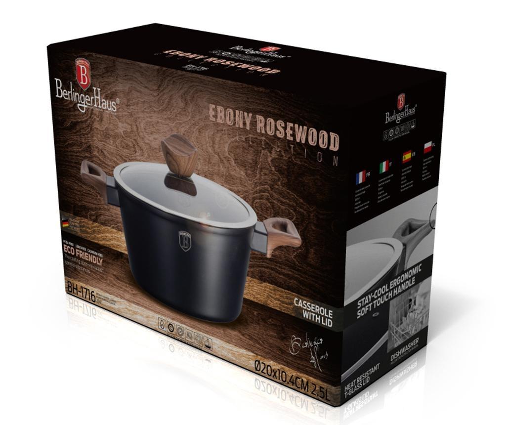 Posuda za kuhanje s poklopcem Ebony Rosewood 2.5 L