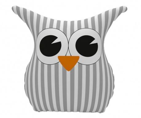 Dekoračný vankúš Owl Grey 25x30 cm