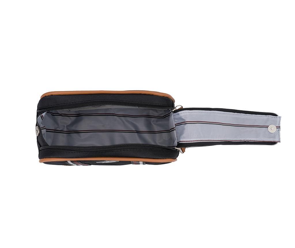 Kozmetička torba Lee Black