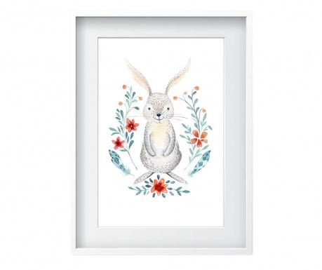 Rabbit Kép 24x29 cm