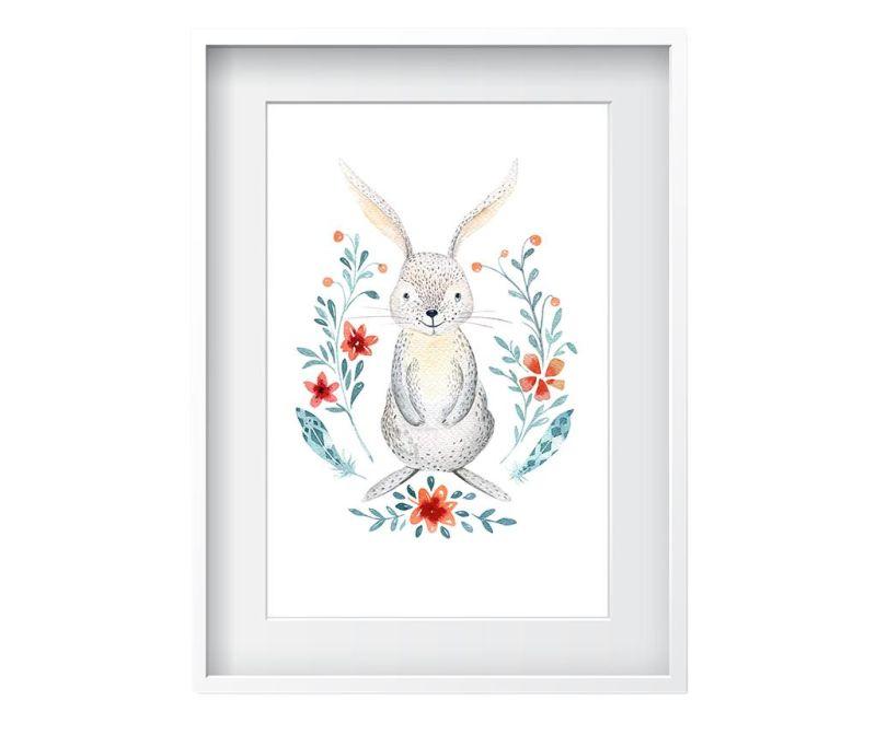 Tablou Rabbit 24x29 cm