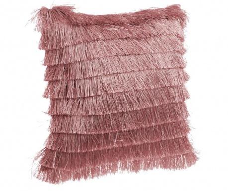 Декоративна възглавница Daisha Fringes Pink 40x40 см