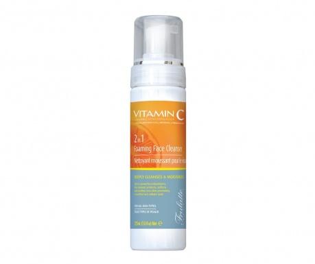 Pianka oczyszczająca do skóry twarzy 2 in 1 Frulatte Cleanser 225 ml
