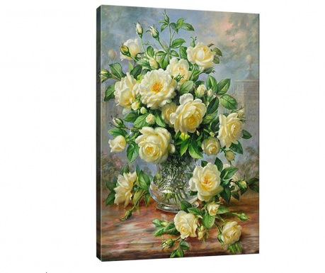 Obraz 3D Wonderful Flowers 50x70 cm
