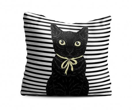 Black Cat Díszpárna 43x43 cm