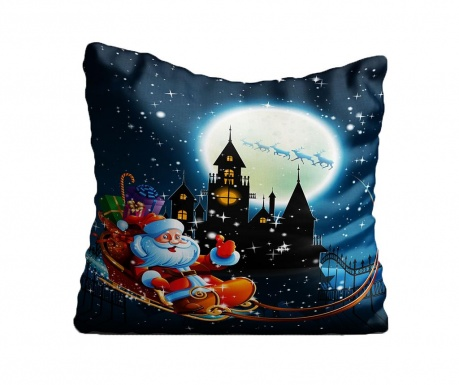 Perna decorativa Christmas Night 43x43 cm