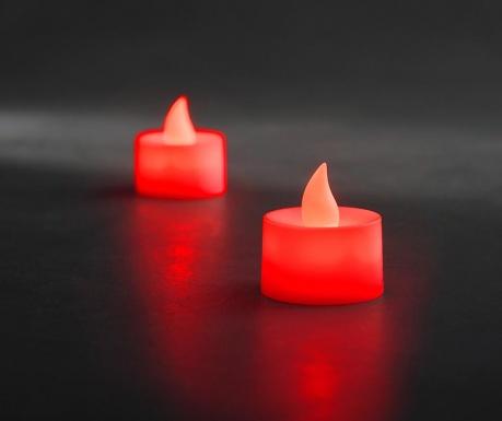 Legeril Red 2 db Gyertya LED-del