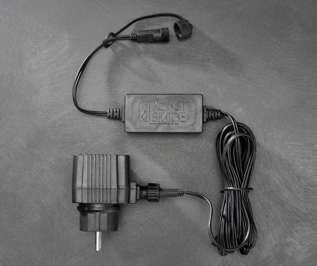 Cablu de alimentare ghirlanda luminoasa pentru exterior Elrara 500 cm