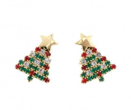 Kolczyki Crystal Christmas