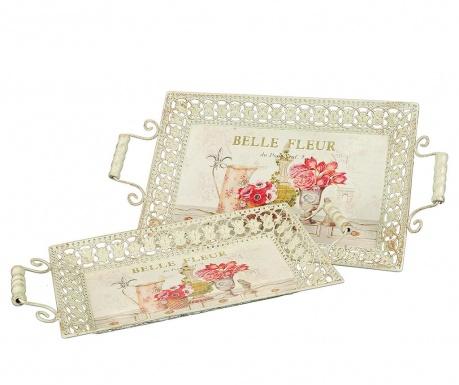 Σετ 2 δίσκοι σεβιρίσματος Belle Fleur