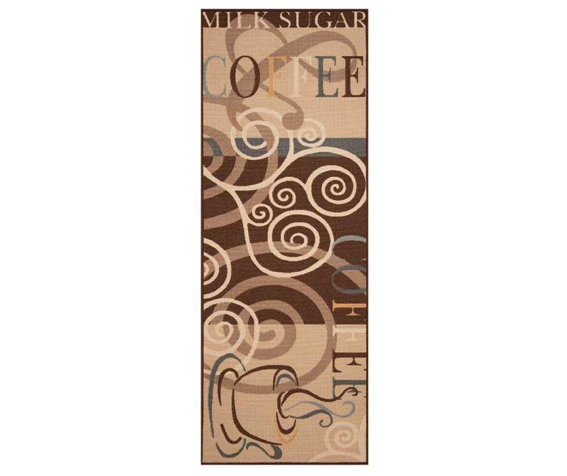 Covor Coffee Ornament 67x180 cm