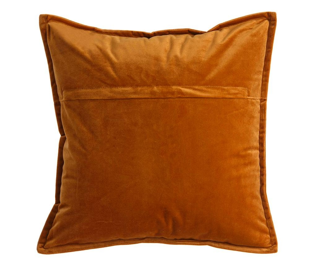Perna decorativa Fabio Orange 45x45 cm