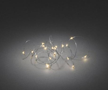 Ghirlanda luminoasa Damal Silver 190 cm