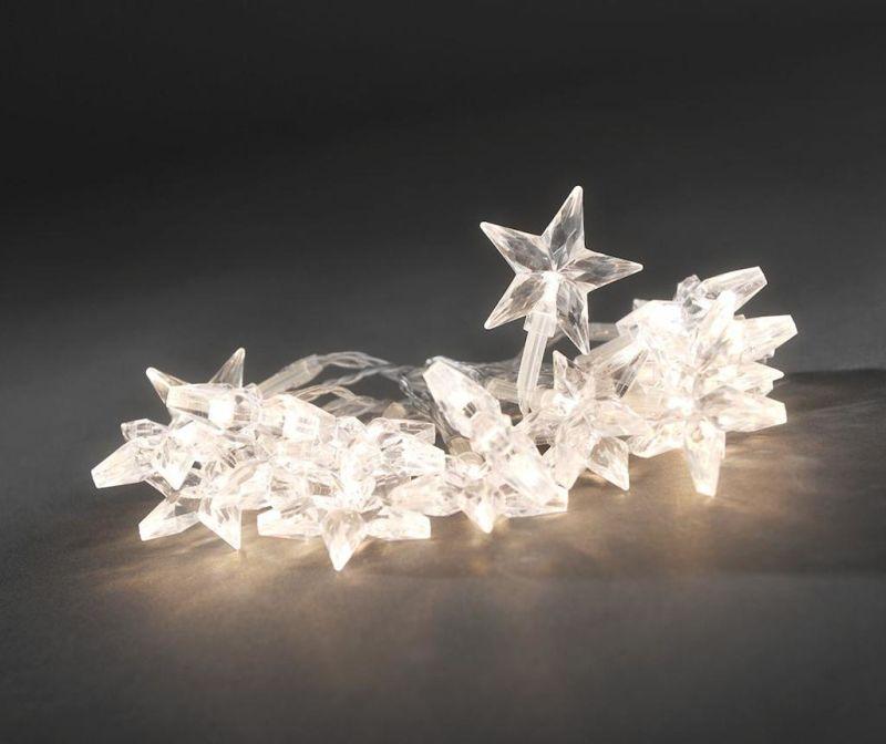 Ghirlanda luminoasa Transparent Stars 190 cm