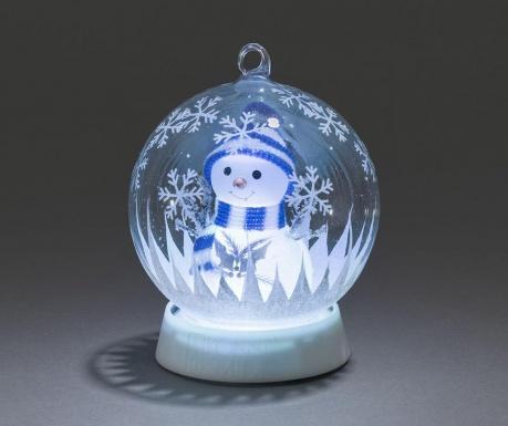 Φωτεινό διακοσμητικό Snowman Inside
