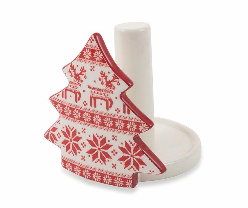 Držač za rolu kuhinjskog papira Dancing Etnic Reindeers