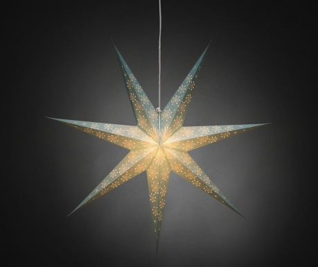 Κρεμαστό φωτεινό διακοσμητικό Blue Star