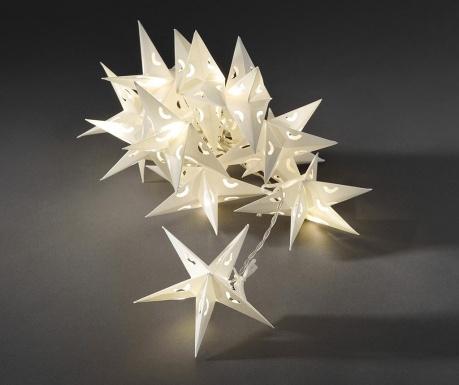 Φωτεινή γιρλάντα White Snow Flake 198 cm