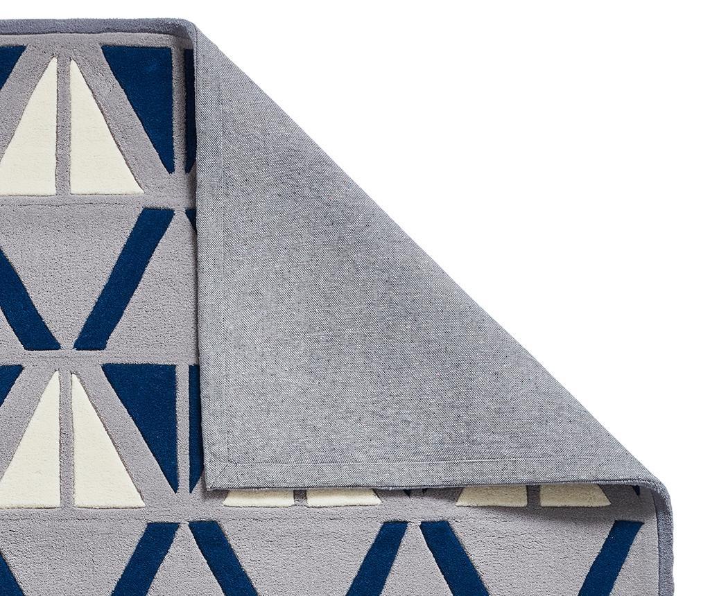 Covor Hong Kong Grey and Navy 120x170 cm