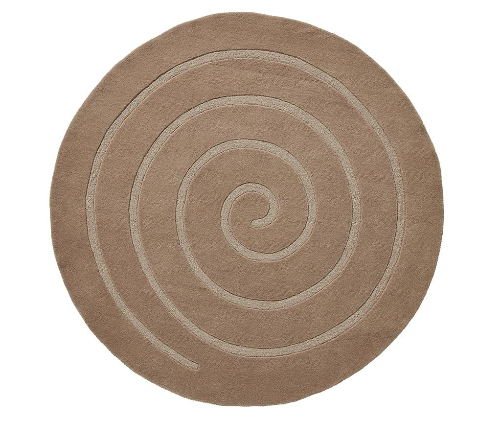 Covor Spiral Beige 140 cm