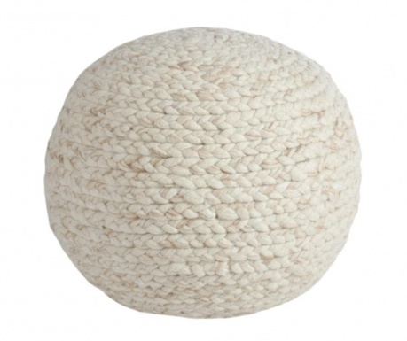 Sedací puf Round Knitted