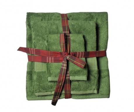 Sada 3 uterákov Phuket Emerald