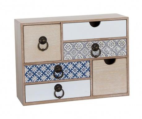 Krabica s 6 zásuvkami Medine