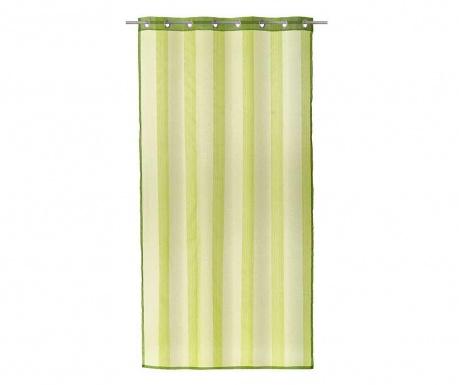 Κουρτίνα Loving Colors Stripes Green 140x260 cm