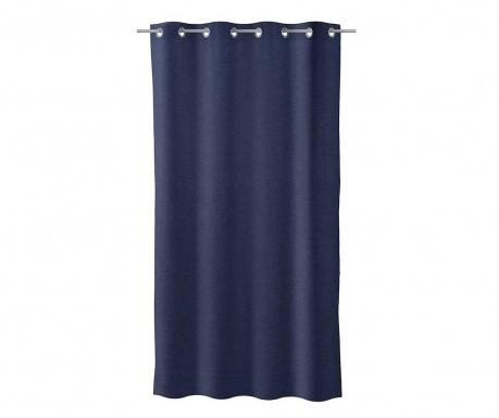 Κουρτίνα Noble Dark Blue 140x260 cm