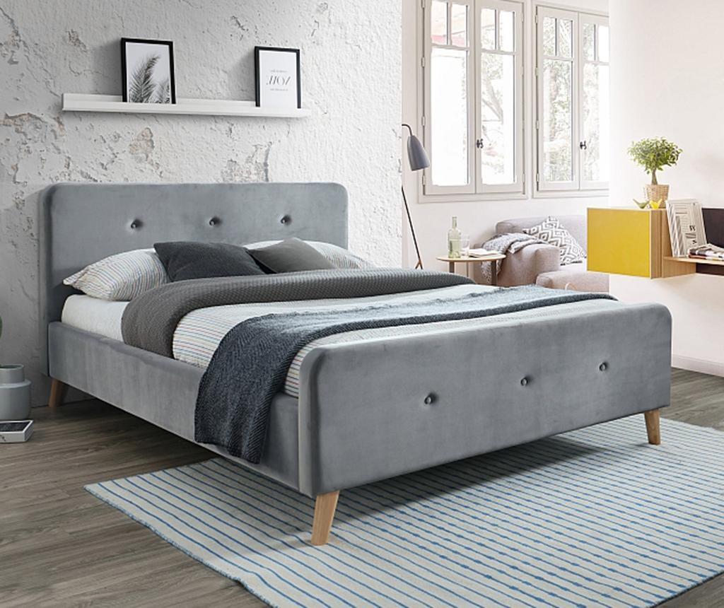 Goteborg Grey Ágy 160x200 cm