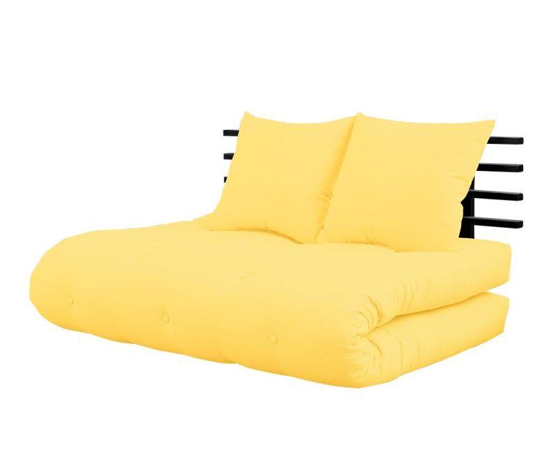 Shinsano Black and Yellow Kihúzható Szófa