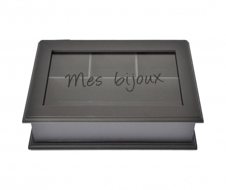 Krabica Bernice Dark Grey