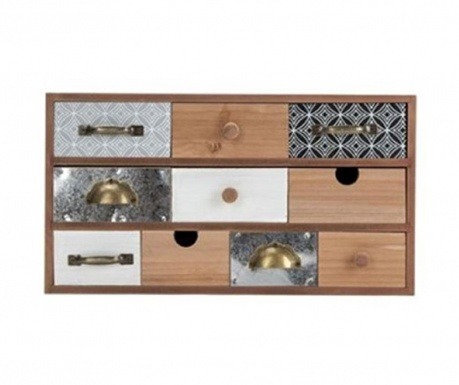 Krabica s 10 zásuvkami Luvenia  Letitia
