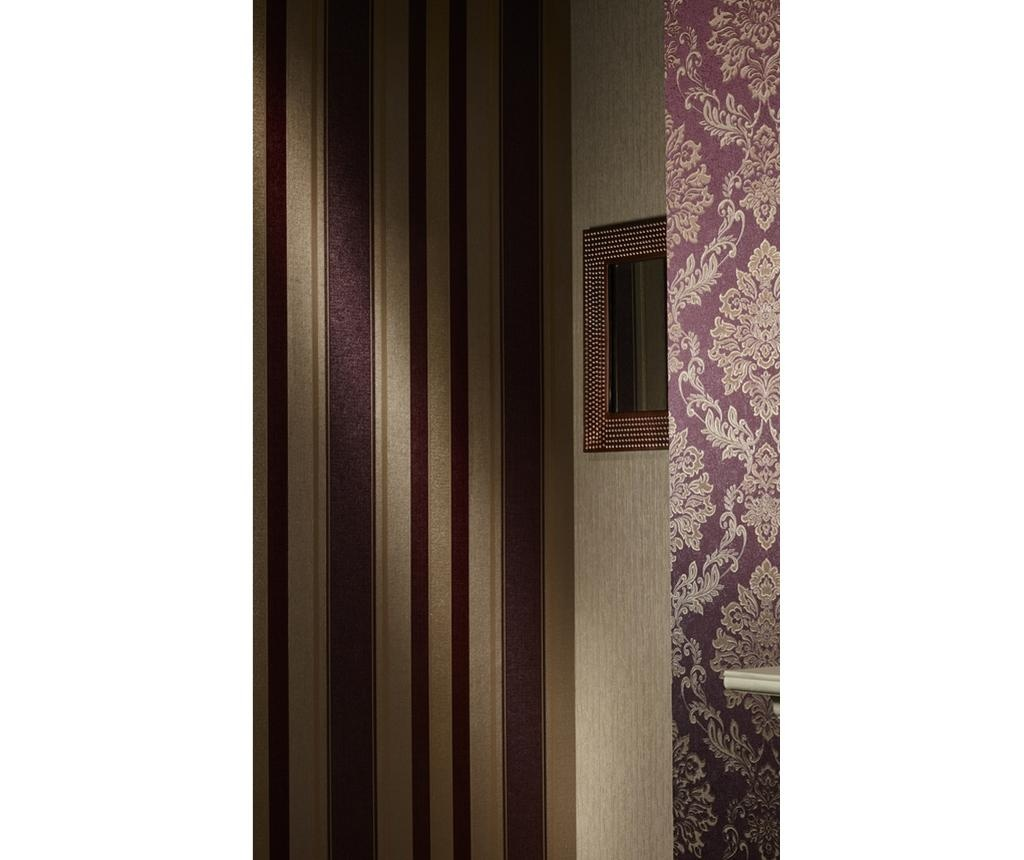 Palazzo Stripe Mulberry Tapéta 53x1005 cm