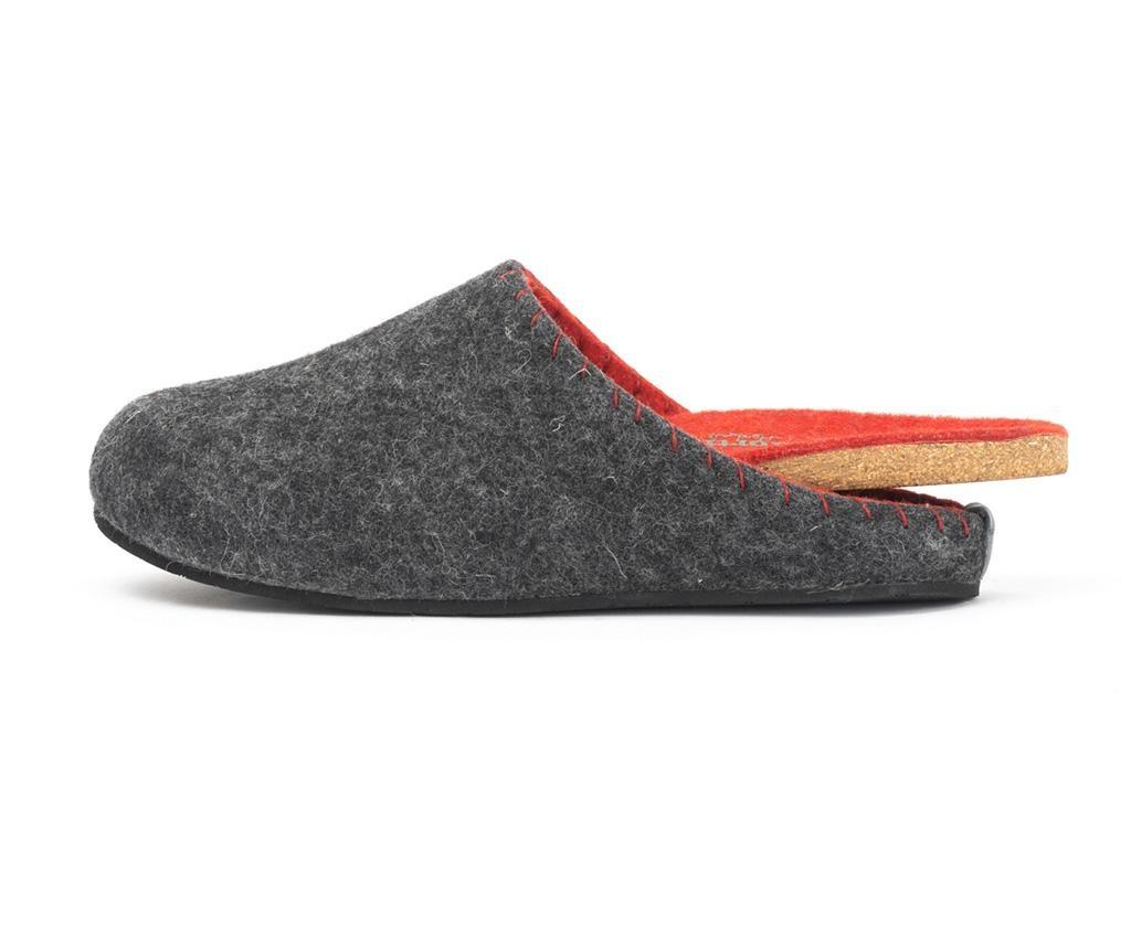 Muške kućne papuče Pine Dark Grey 41