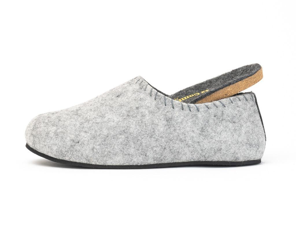 Muške kućne papuče Yew Grey 44