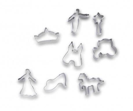 Set 8 forme pentru decupat aluat Princess