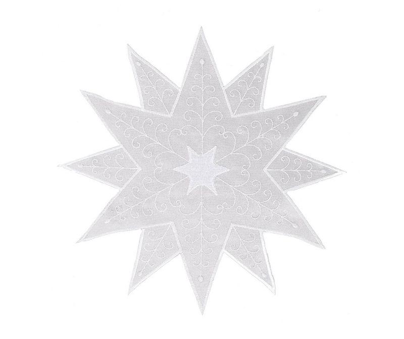 Prtiček Bora Silver White 30x30 cm