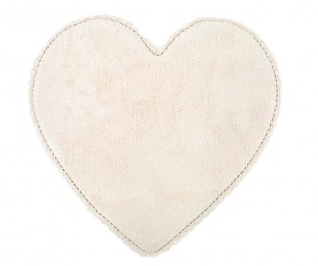 Dywanik łazienkowy Amor Ecru 80x80 cm