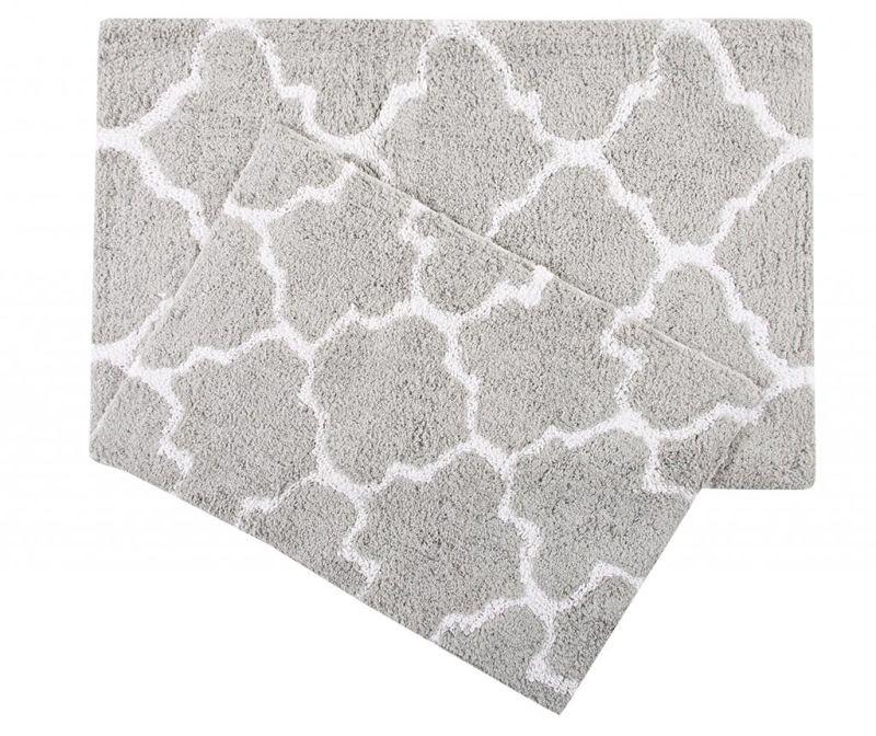 Set 2 kupaonska tepiha Bali Grey