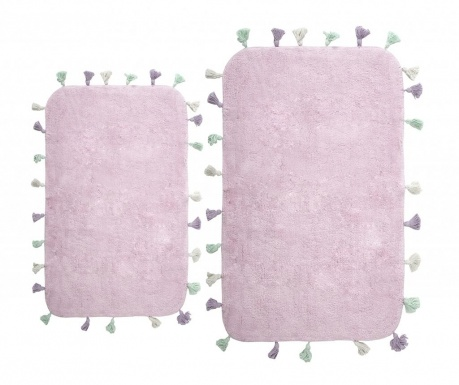 Комплект 2 килима за баня Lucca Purple