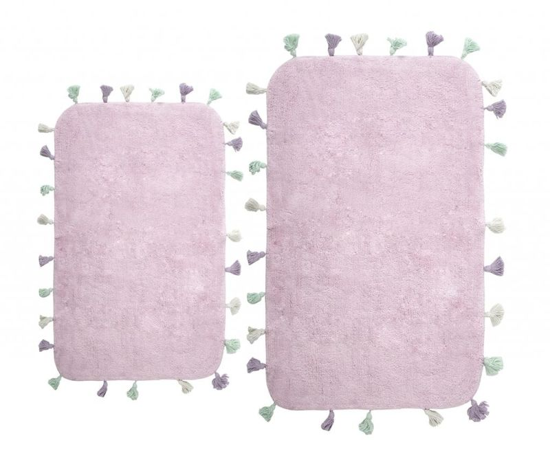 Set 2 kopalniških preprog Lucca Purple